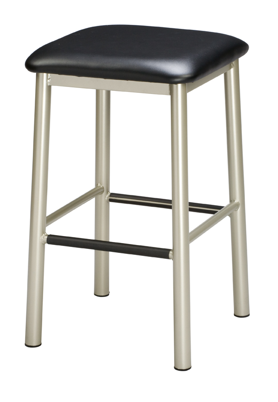 Regal 1174 Backless Stool Steel Frame Metal Barstools By Braniff Barstools