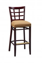 Regal 2411FUS - Trellis Back Barstool