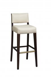 Regal 2438USB - Solid Back Barstool
