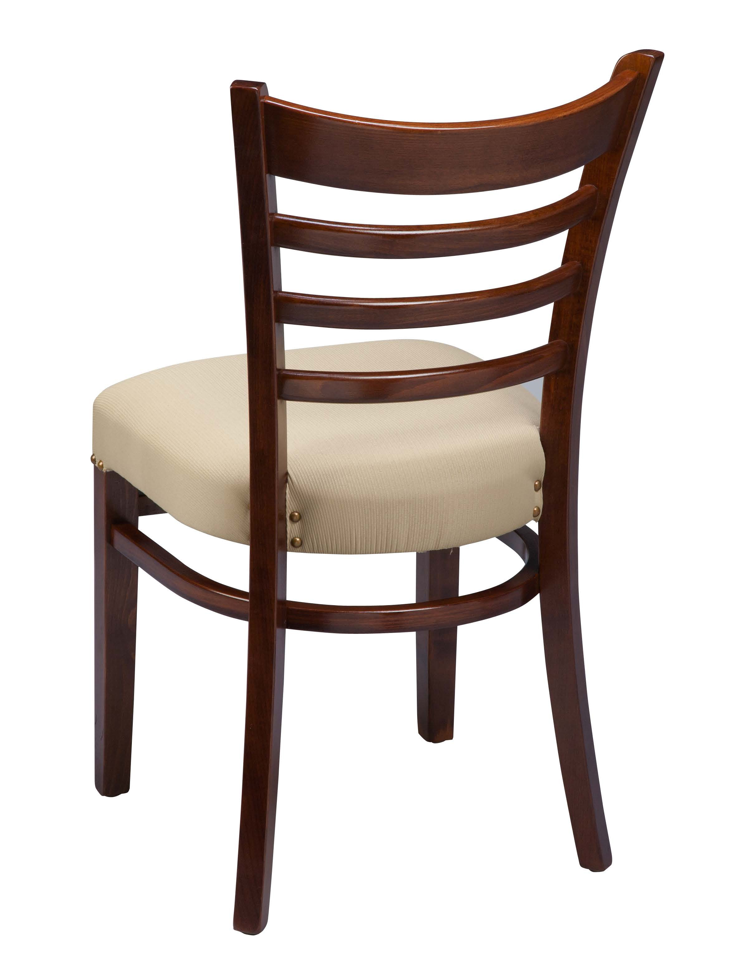 Regal fus ladder back wood kitchen chair chairs by