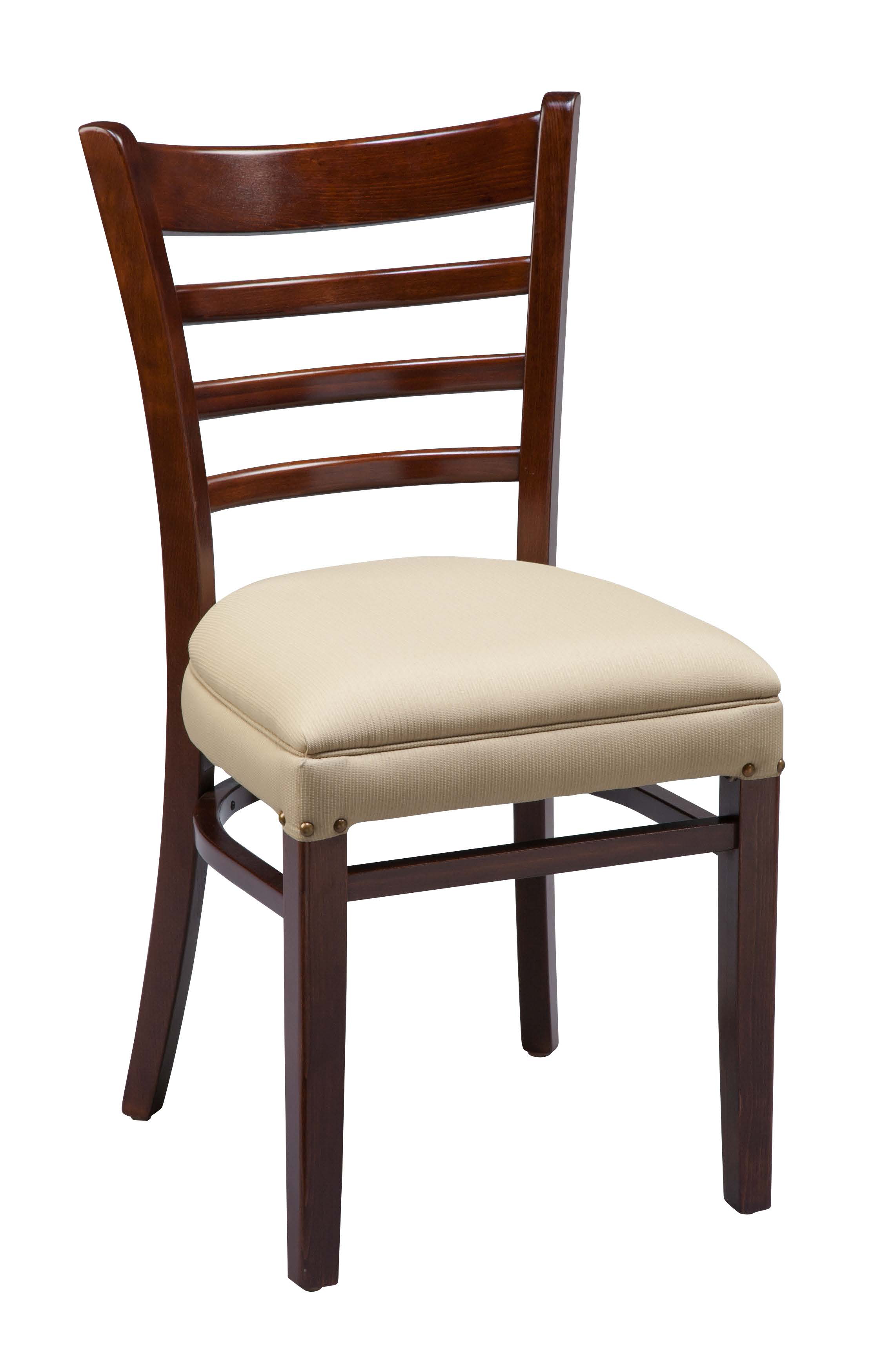 Regal uph ladder back wood kitchen chair chairs by