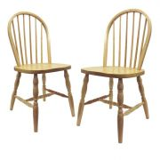 Winsome 83237 Natural Chairs Set of 2