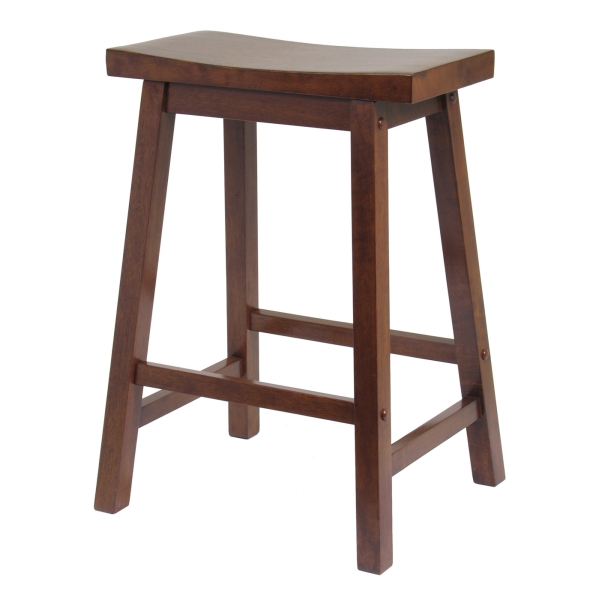 Winsome 94084 Saddle Seat Counter Stool Counter Stools By
