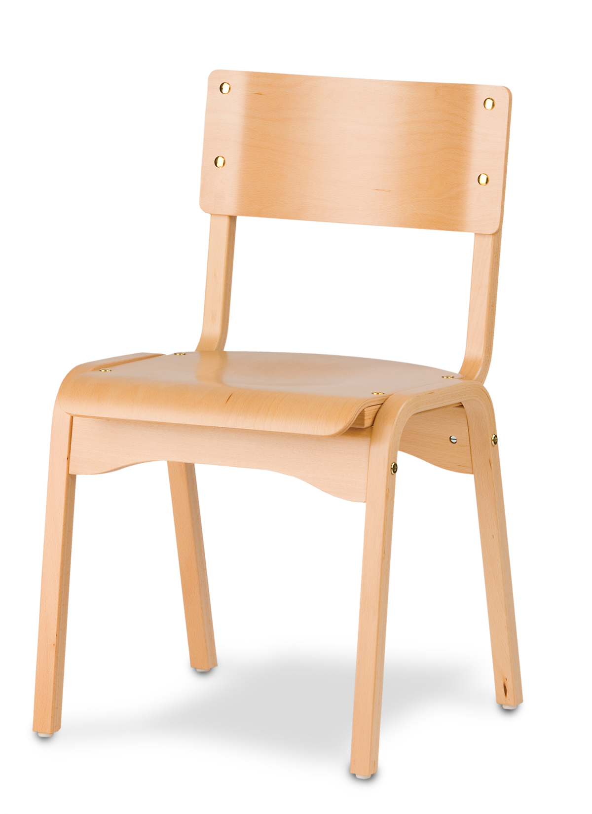 Holsag Carlo Wood Stacking Chair Stacking Chairs By