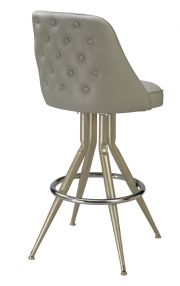 Regal P2tft-1101 - Retro Swivel Stool with Tufted Back