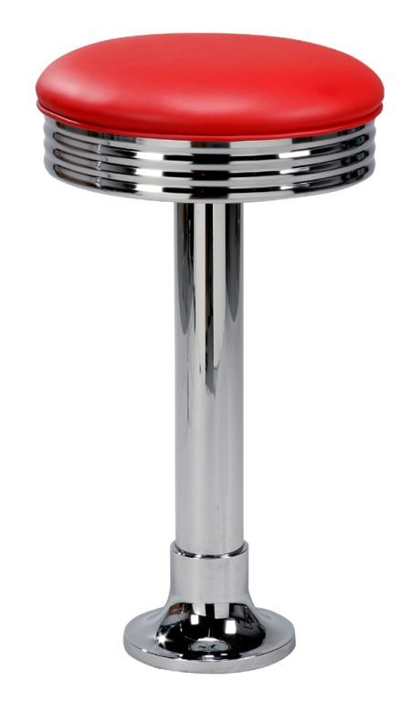 Regal 1207 Retro Diner Stool Retro Metal Barstools By
