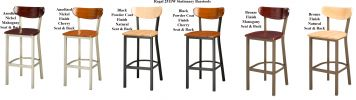 Regal 2511W - Metal Barstool