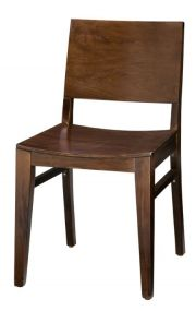 Regal 438W - Solid Back Wood Dining Chair