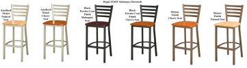 Regal 1516W - Metal Barstool