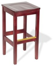 Holsag - Bulldog Backless Wood Barstool