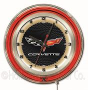 GM Neon Clocks 19 Inch (GM Colors: BlackGold)