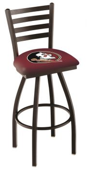 Holland L014 Logo Swivel Stool With Back (Holland Available Logos: Florida State (Head))