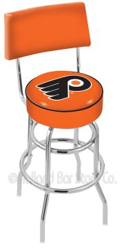 Holland L7C4 Logo Swivel With Back (Holland Available Logos: NHL - Philadelphia Flyers - Orange)