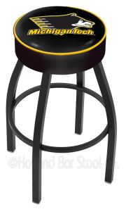 Holland L8B1 Logo Swivel Stool (Holland Available Logos: Michigan Tech)