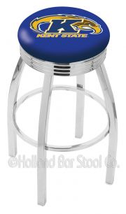 Holland L8C3C Logo Swivel Stool (Holland Available Logos: Kent State)